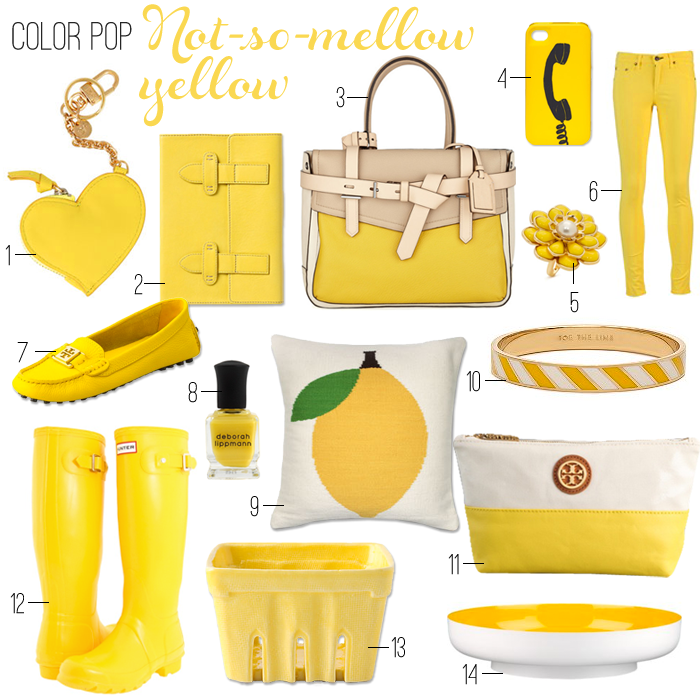 A lovely yellow find over at BreakfastatToast.com today!