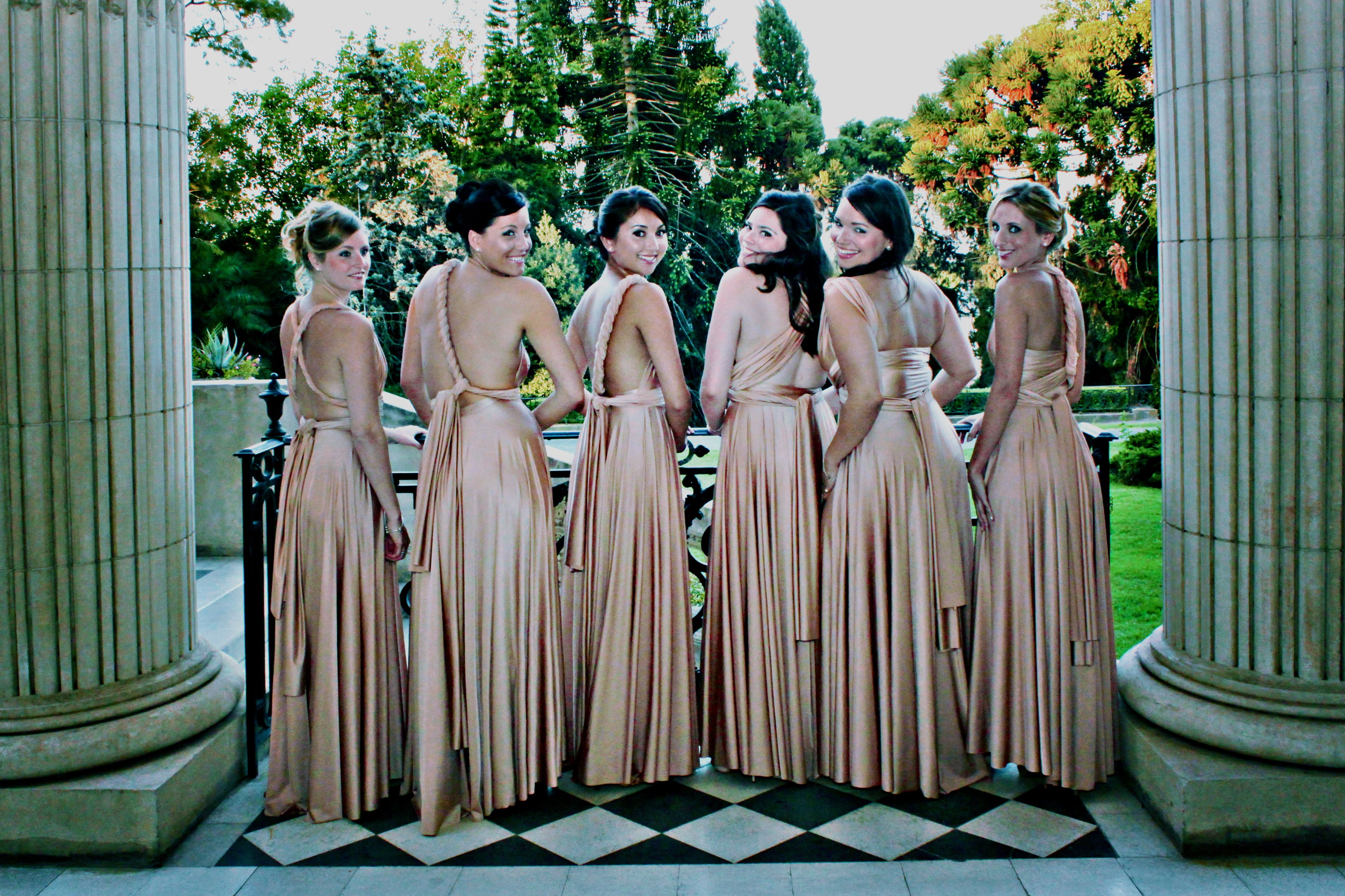 Stunning girls in our rosewater ballgowns twobirds bridesmaid stunning girls in our rosewater ballgowns twobirds bridesmaid dress a real wedding featuring our ombrellifo Choice Image