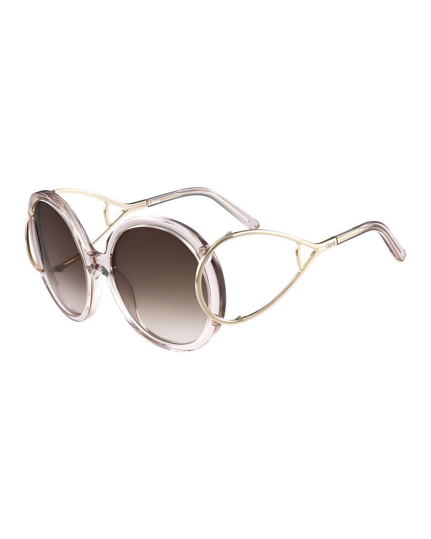 5f0e50b1ec6 Jackson Round Oversized Sunglasses