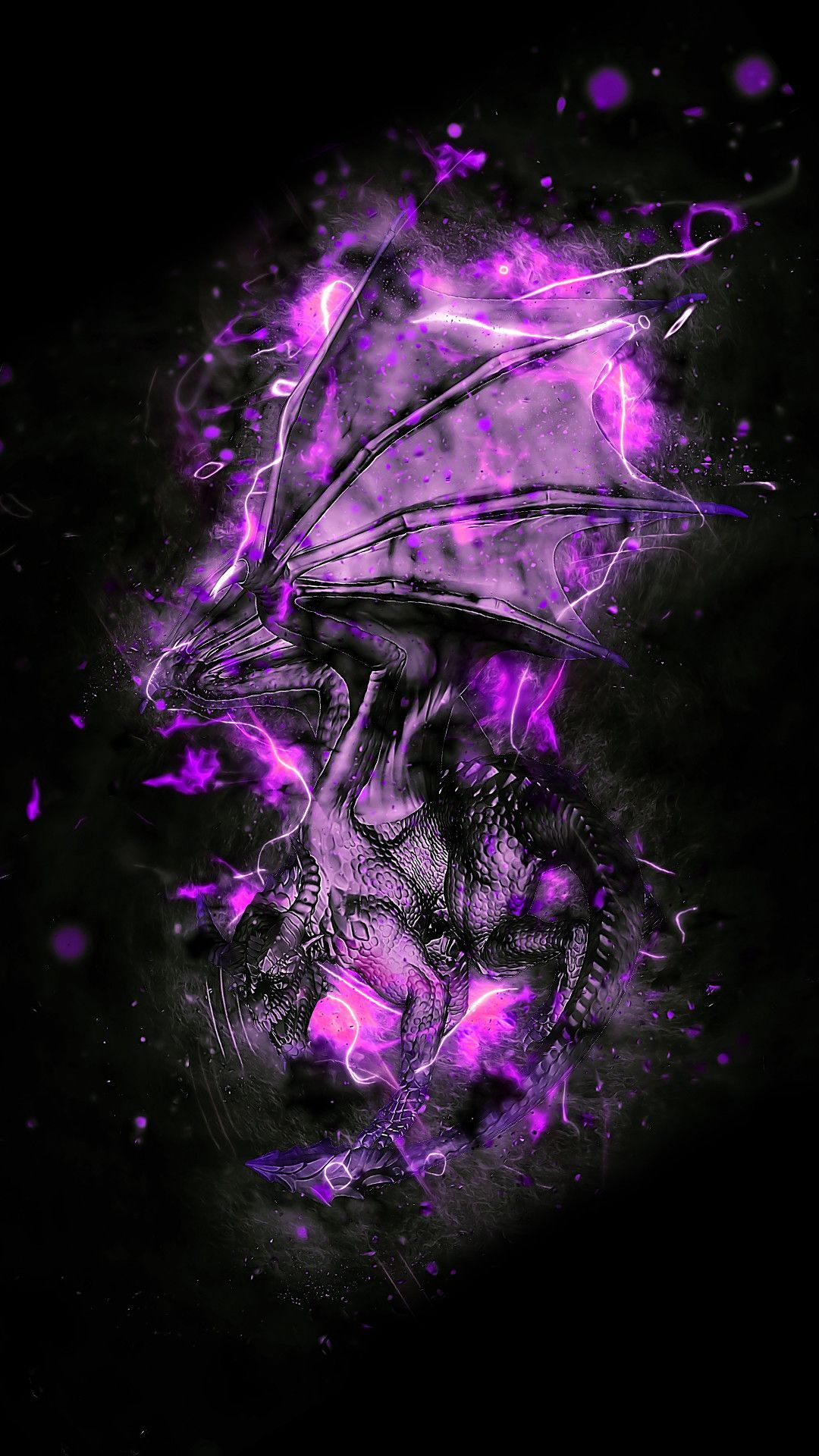 82 Purple Phone Wallpapers On Wallpaperplay Android Wallpaper Gaming Wallpapers Black Wallpaper Iphone