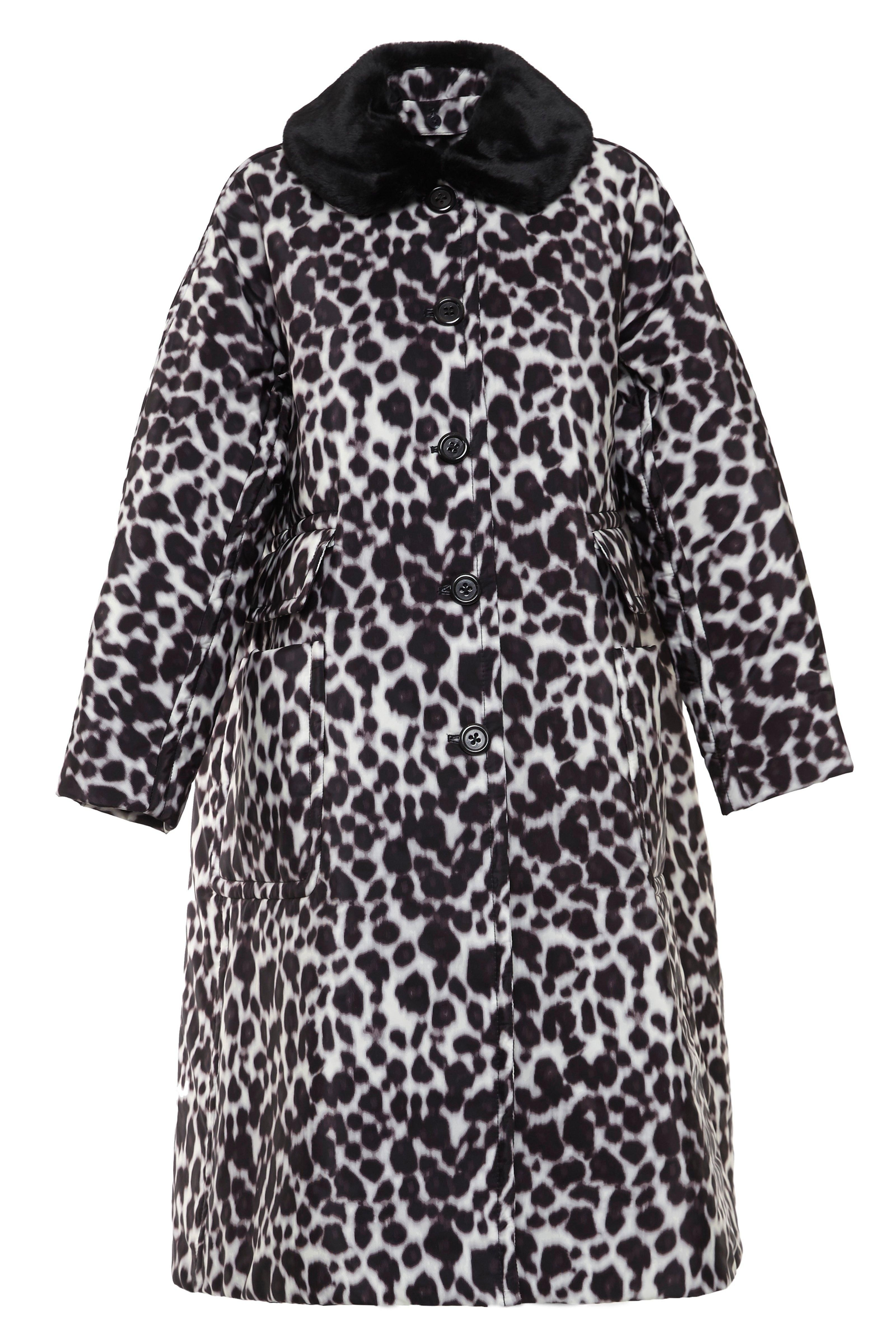 4b0f4b4df7d6 The Marc Jacobs Snow Leopard Overcoat with Fur Collar was made for the  elements…