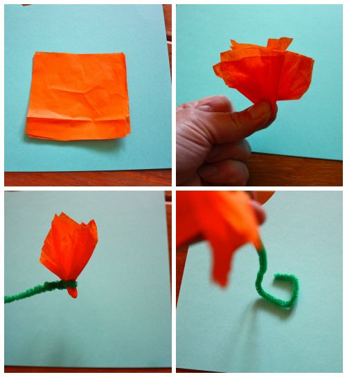 How to make tissue paper flowers without pipe cleaners google how to make tissue paper flowers without pipe cleaners google search mightylinksfo Choice Image