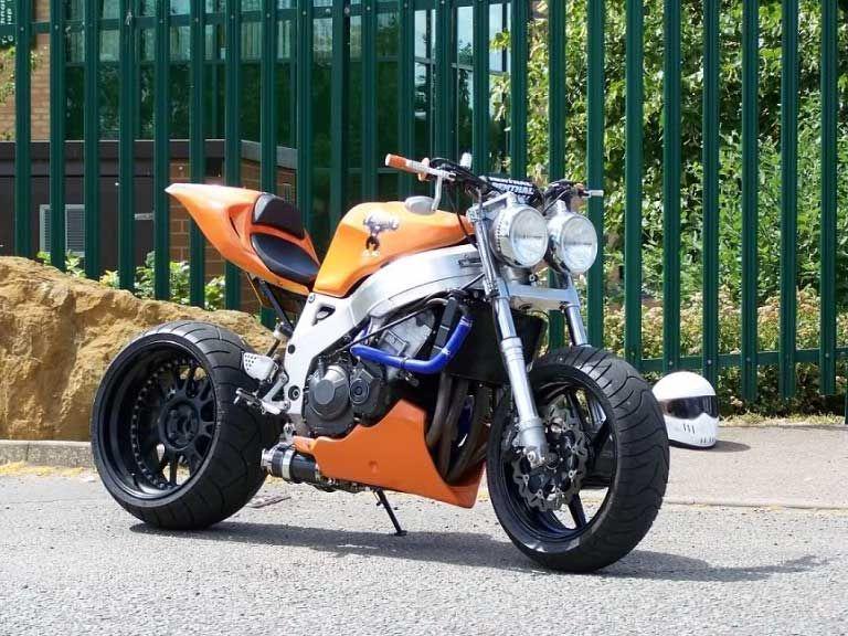 Street Fighter Motorcycle >> Street Fighter Honda Gt Hawk Street Fighter Motorcycle