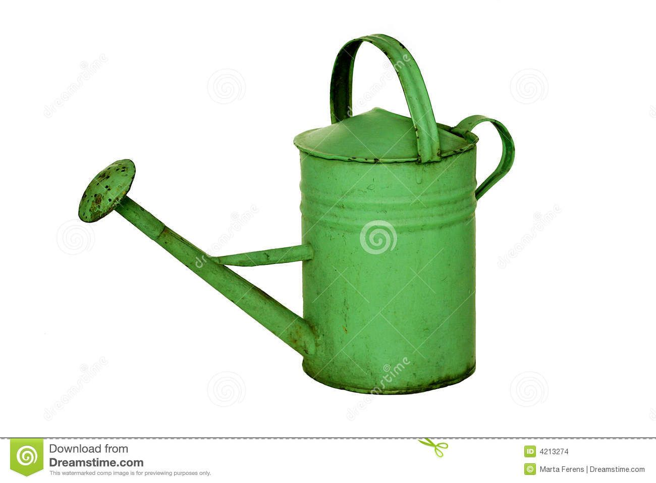 Old-fashioned Watering Can Stock Images - Image: 4213274