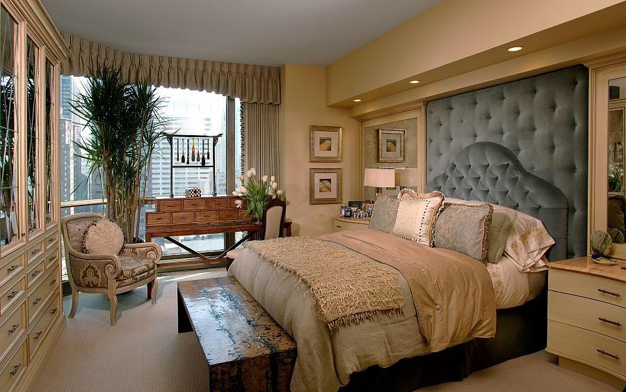 modern condominium master bedroom interior decorating ideas