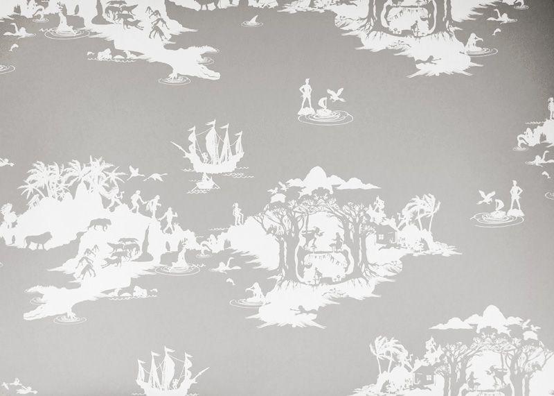 Velvet U0026 Dash Interiors Peter Pan Wallpaper   Bedroom Paper