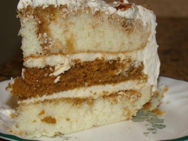 Tiramisu Layer Cake. Photo by LB in Middle Georgia YUM!