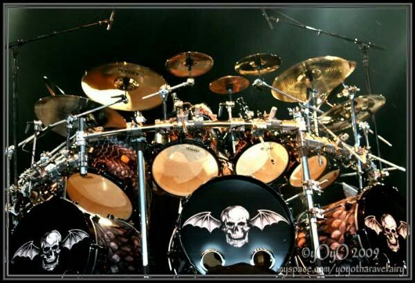 The Revs Amazing Triple Bass Kit From Avenged Sevenfold