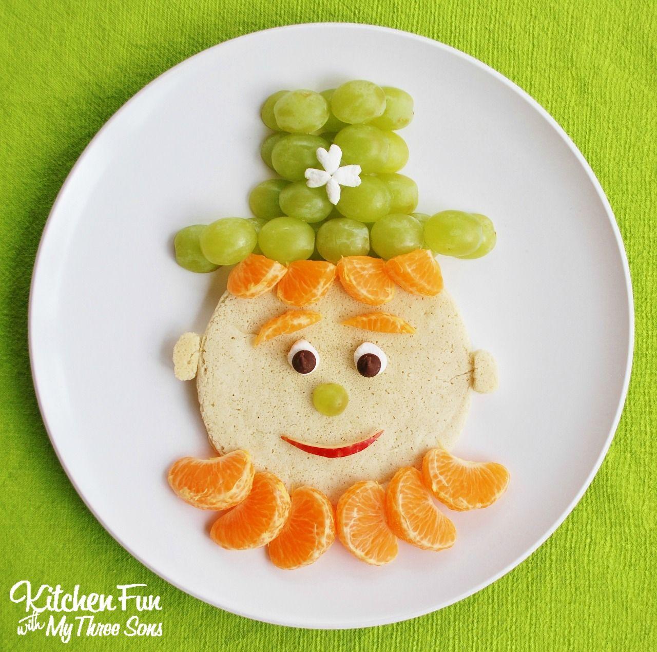 St Patrick S Day Breakfast She Brooke: St. Patrick's Day Leprechaun Pancakes For Breakfast