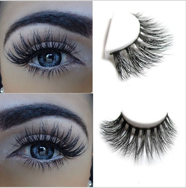e6a3e023a82 100% real mink fur Handmade crossing lashes D009 individual strip thick lash  #Ardell