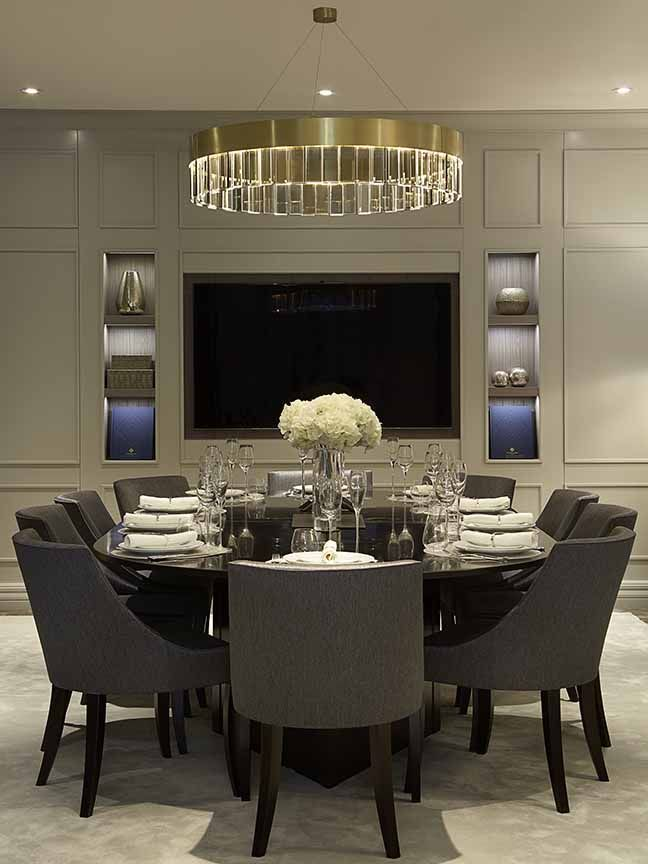 Luxury Interior Design: Morpheus London Grey Room @morpheuslondon London Luxury