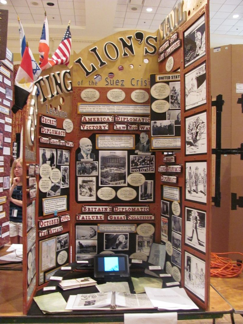 National History Day Contest | Student Project Examples | NHD ...