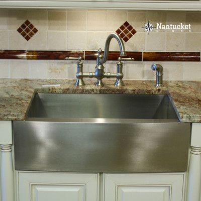 Nantucket Sinks Pro Series 30 X 20 Single Bowl Farmhouse Apron