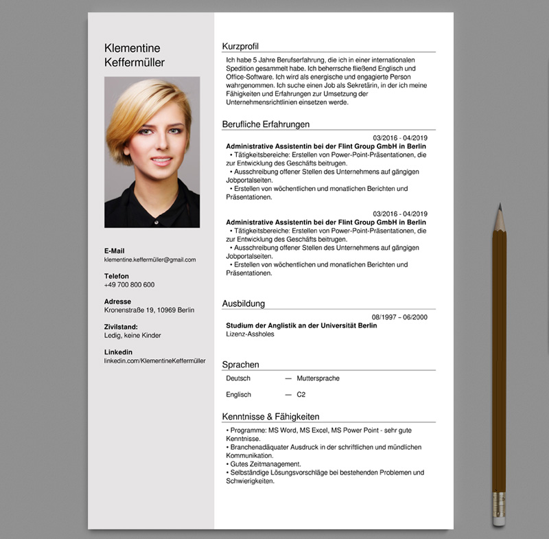 German Cv Templates Free Download Word Docx In 2021 Cv Template Free Cv Templates Free Download Online Cv Template