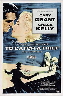 To Catch A Thief (1955): When a reformed jewel thief is suspected of returning to his former occupation, he must ferret out the real thief in order to prove his innocence.  -Starring: Cary Grant, Grace Kelly