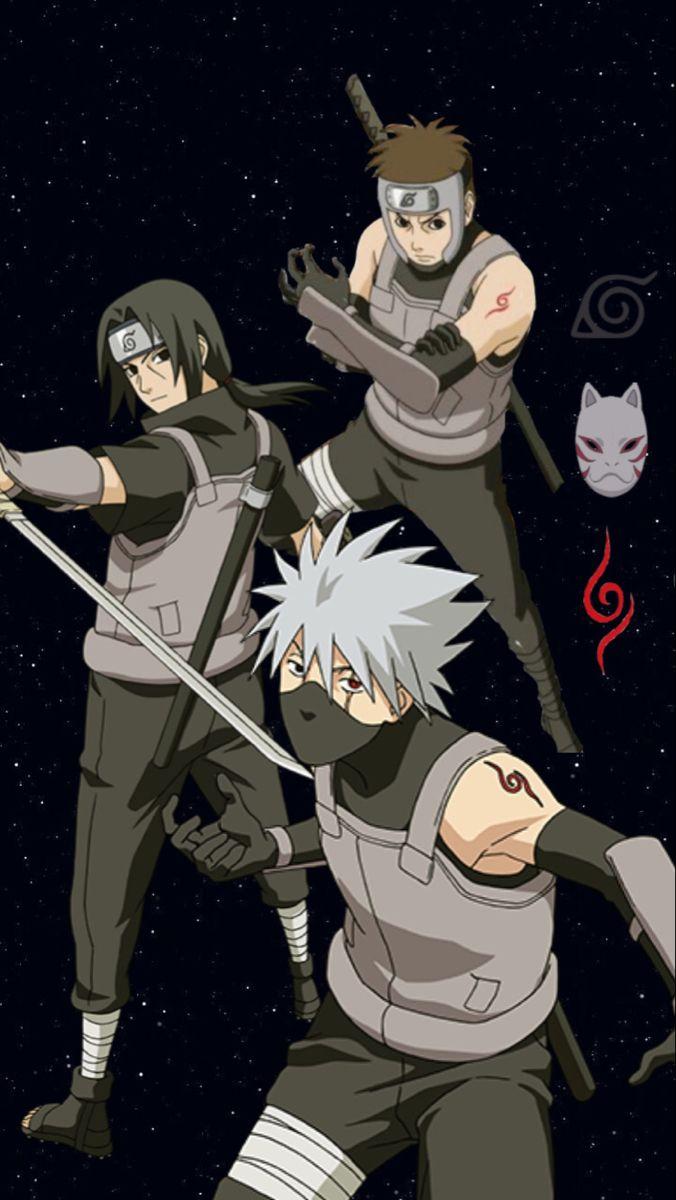 Wallpaper Naruto Anbu Anime Akatsuki Naruto Kakashi Naruto Gaiden