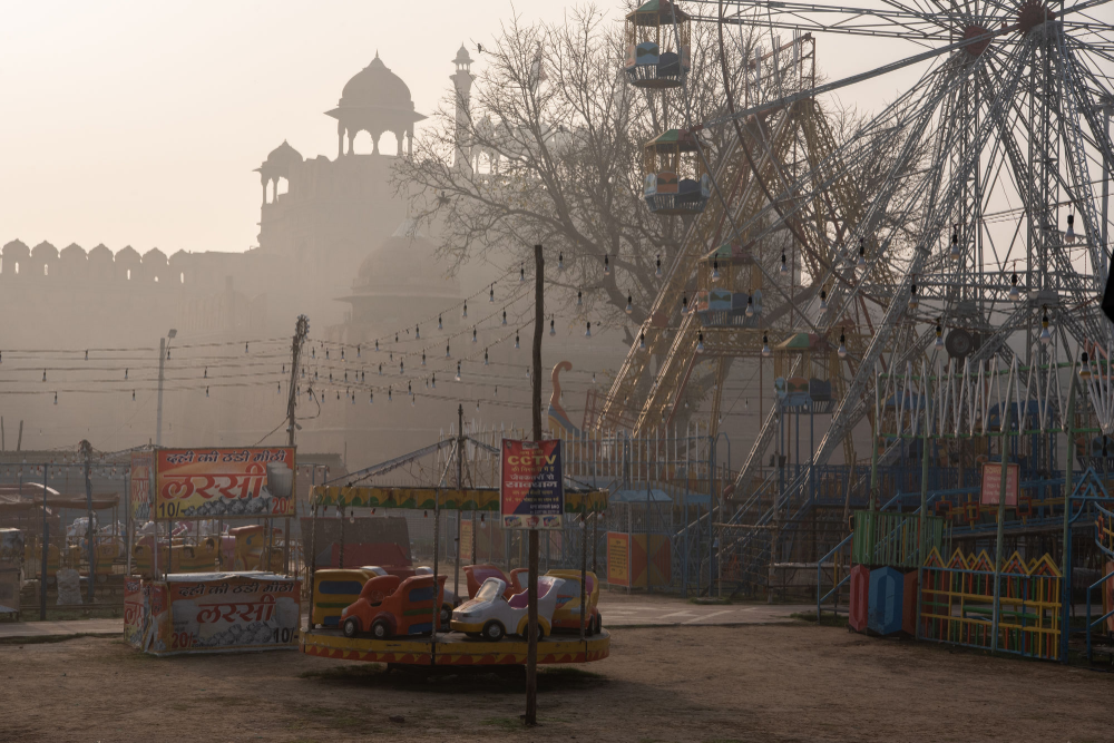 The Great Empty in 2020 Art in the age, Red fort, Sleep city