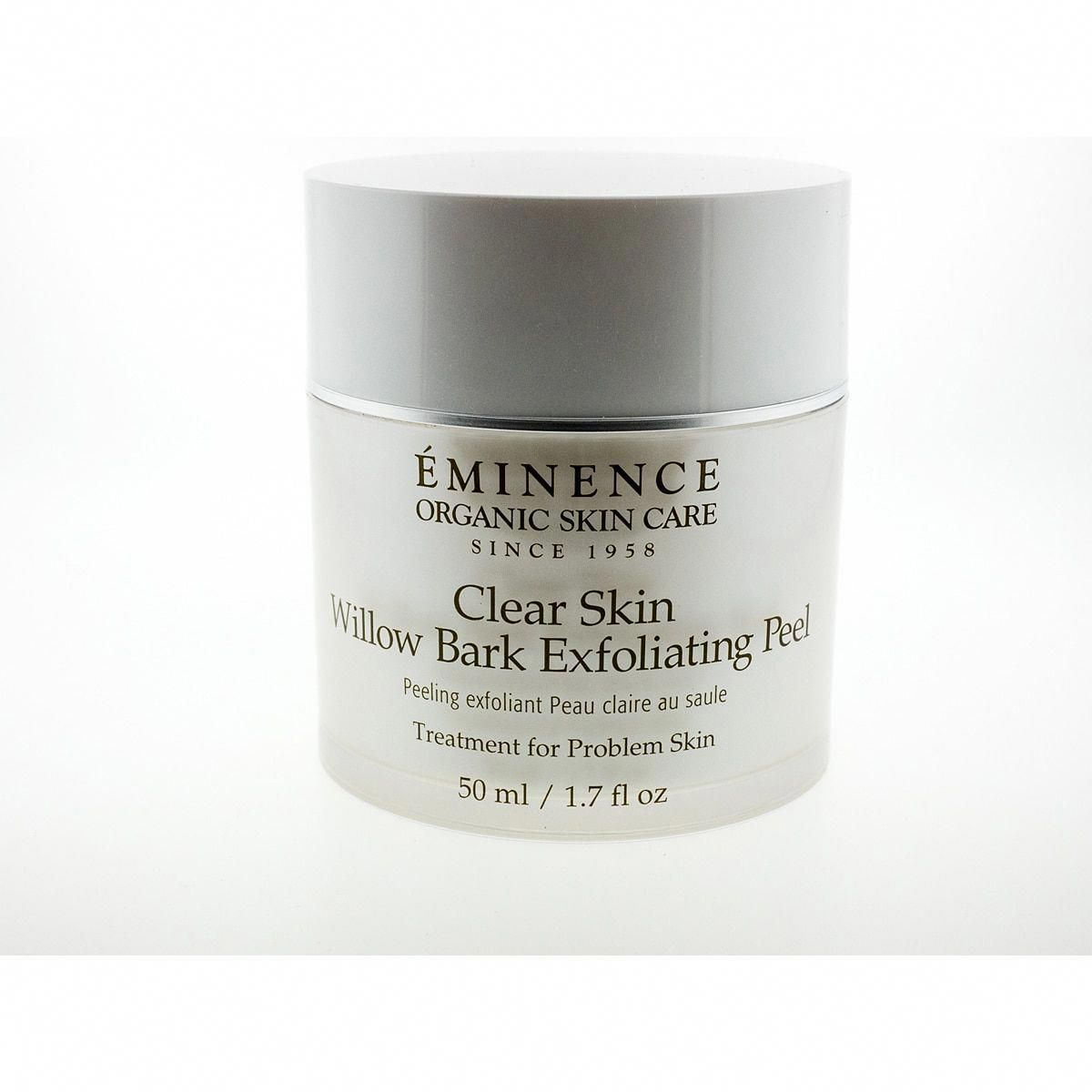 Eminence 1 7 Ounce Clear Skin Willow Bark Exfoliating Peel Saggytummyskinafterbaby In 2020 Exfoliating Peel Clear Skin Peeling Skin