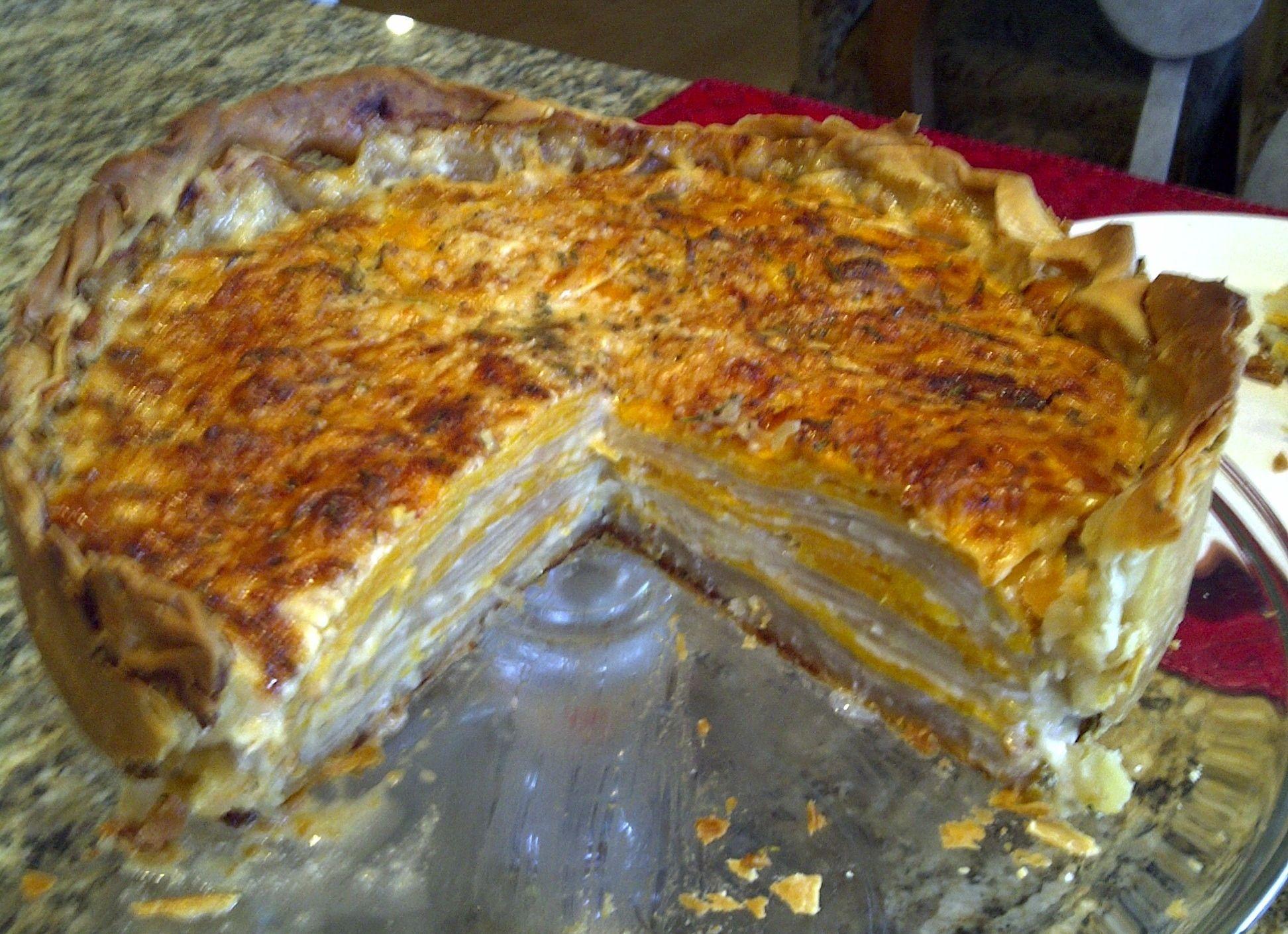 Sweet Potato and Russet Potato bake #russetpotatorecipes