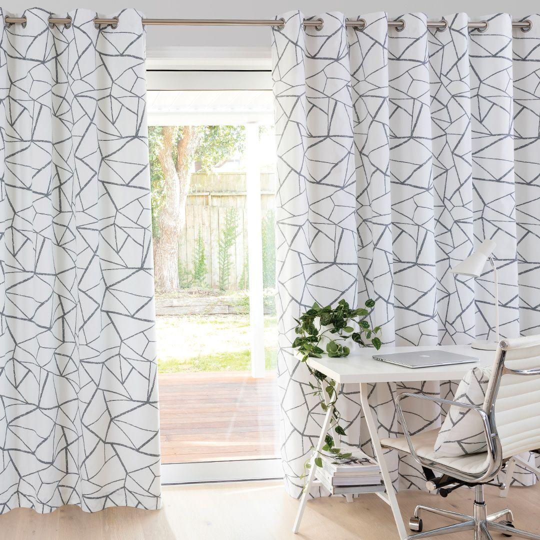Porter Chalk Readymade Lined Eyelet Curtain Curtain Studio Buy Curtains Online Curtains Buy Curtains Online Buy Curtains