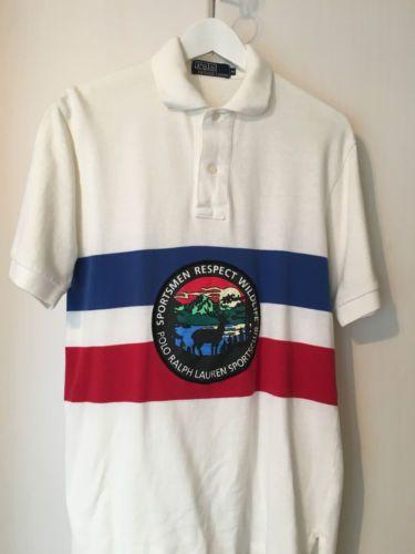 04a9506f8c287 Vintage-Polo-Ralph-Lauren-Respect-Wild-Life-Polo-Shirt