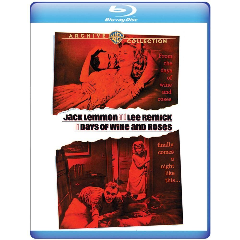 Days Of Wine And Roses Bd Lee Remick Hits Movie Jack Lemmon