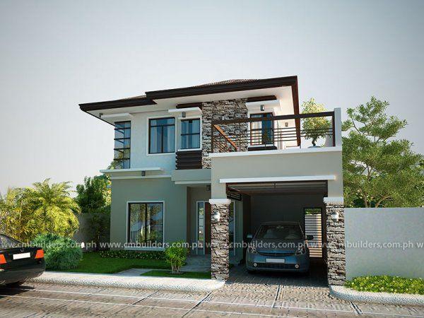 Modern Zen Cm Builders Zen House Design Philippines House