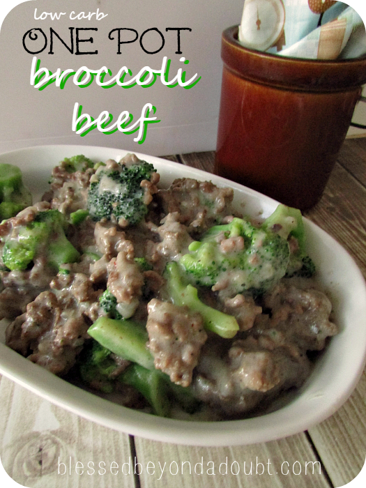 One pot low carb beef broccoli recipe low carb broccoli for Quick and easy low carb dinner recipes