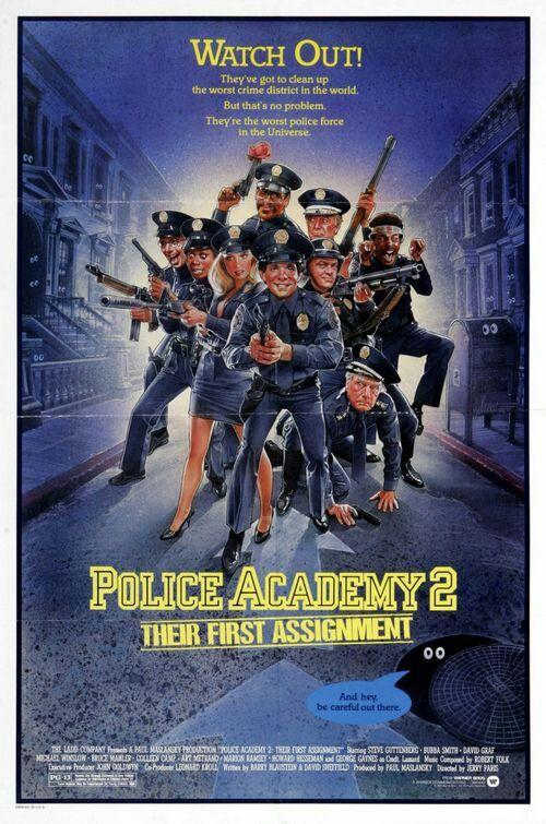Police Academy 2 Funny Movie Police Academy Movie Police Academy Police