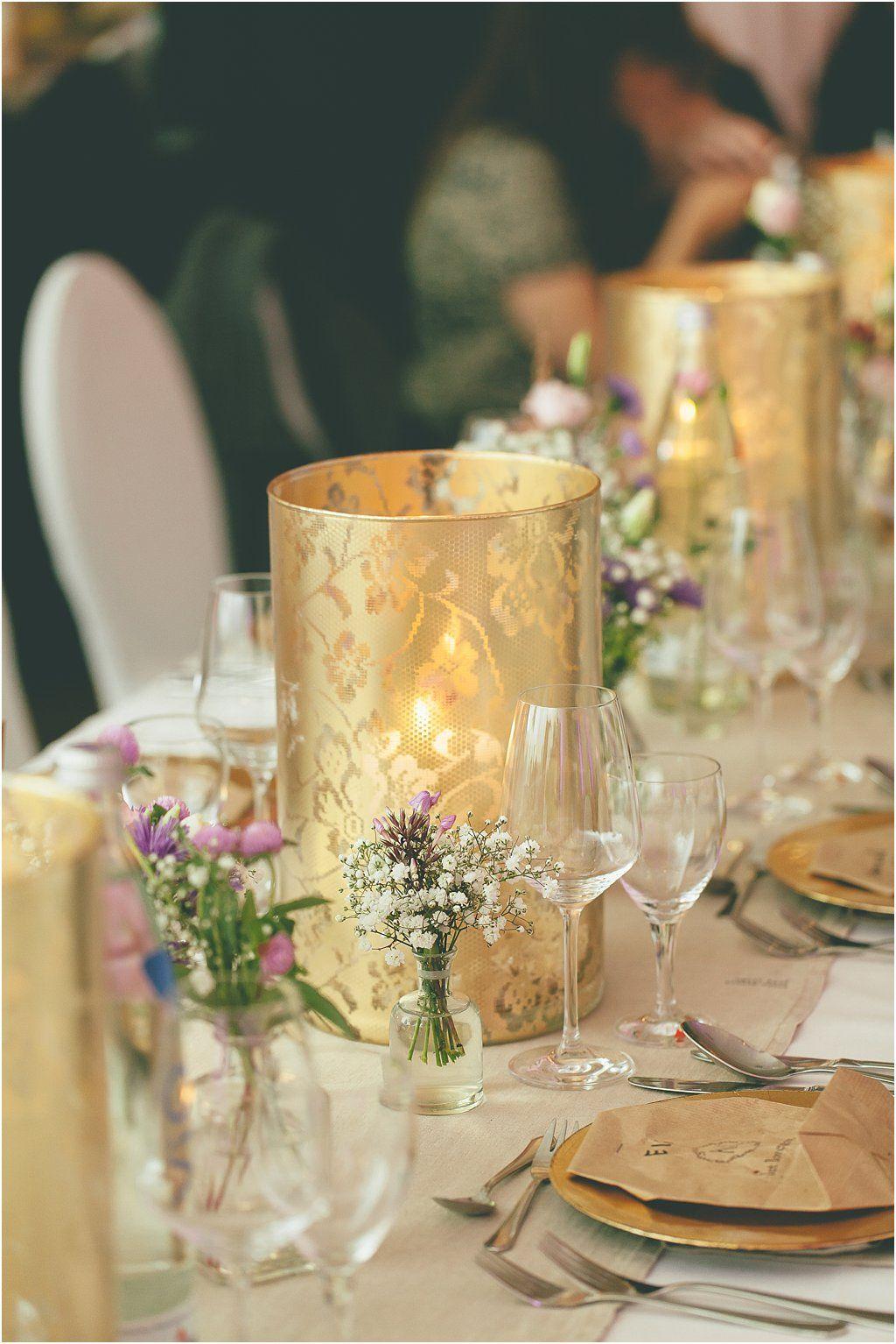Bohemian Dekoration Mit Gold Braun Und Pastell