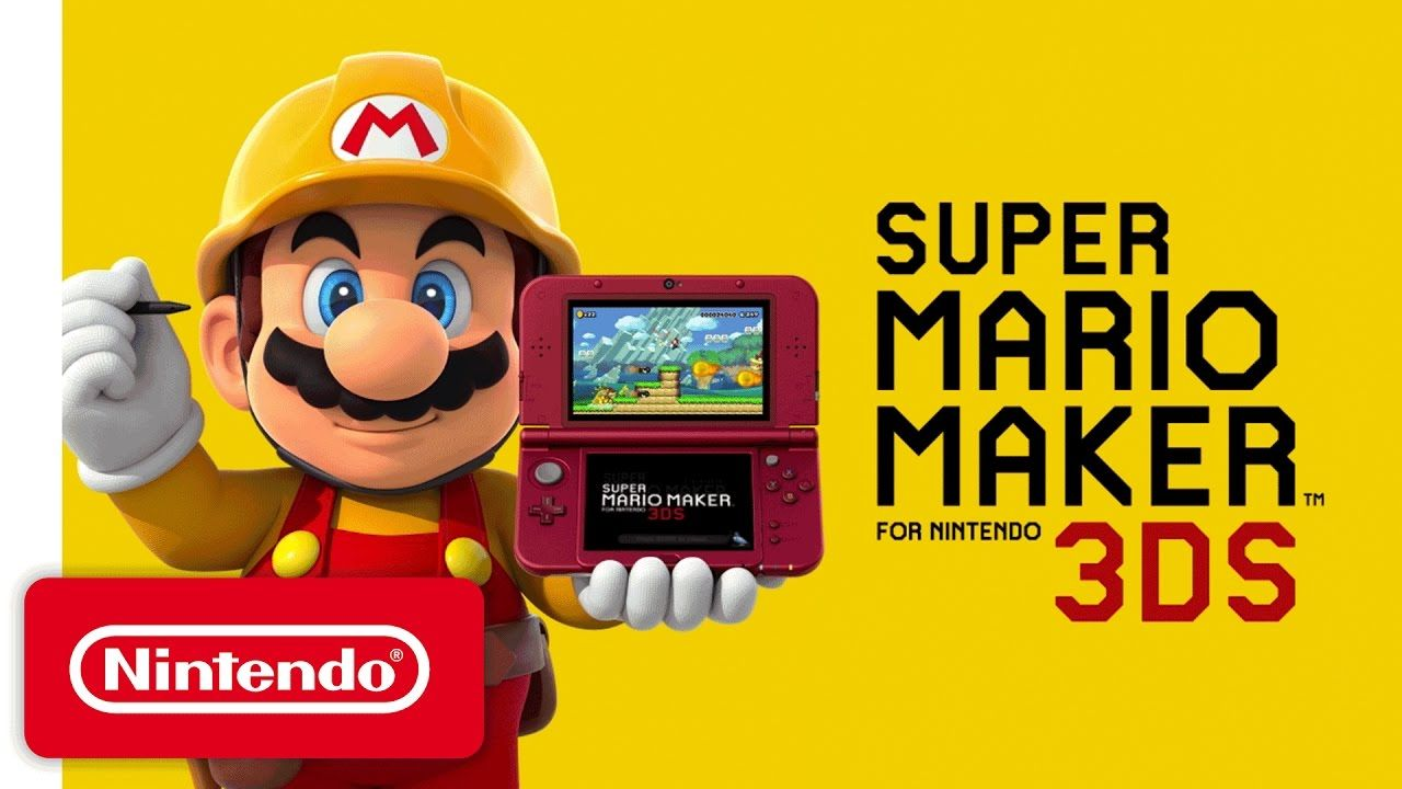 Super Mario Maker 3DS CIA Free Download http//www
