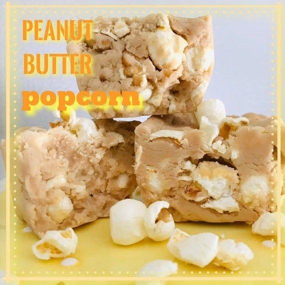 GOURMET: Peanut Butter Salted Popcorn