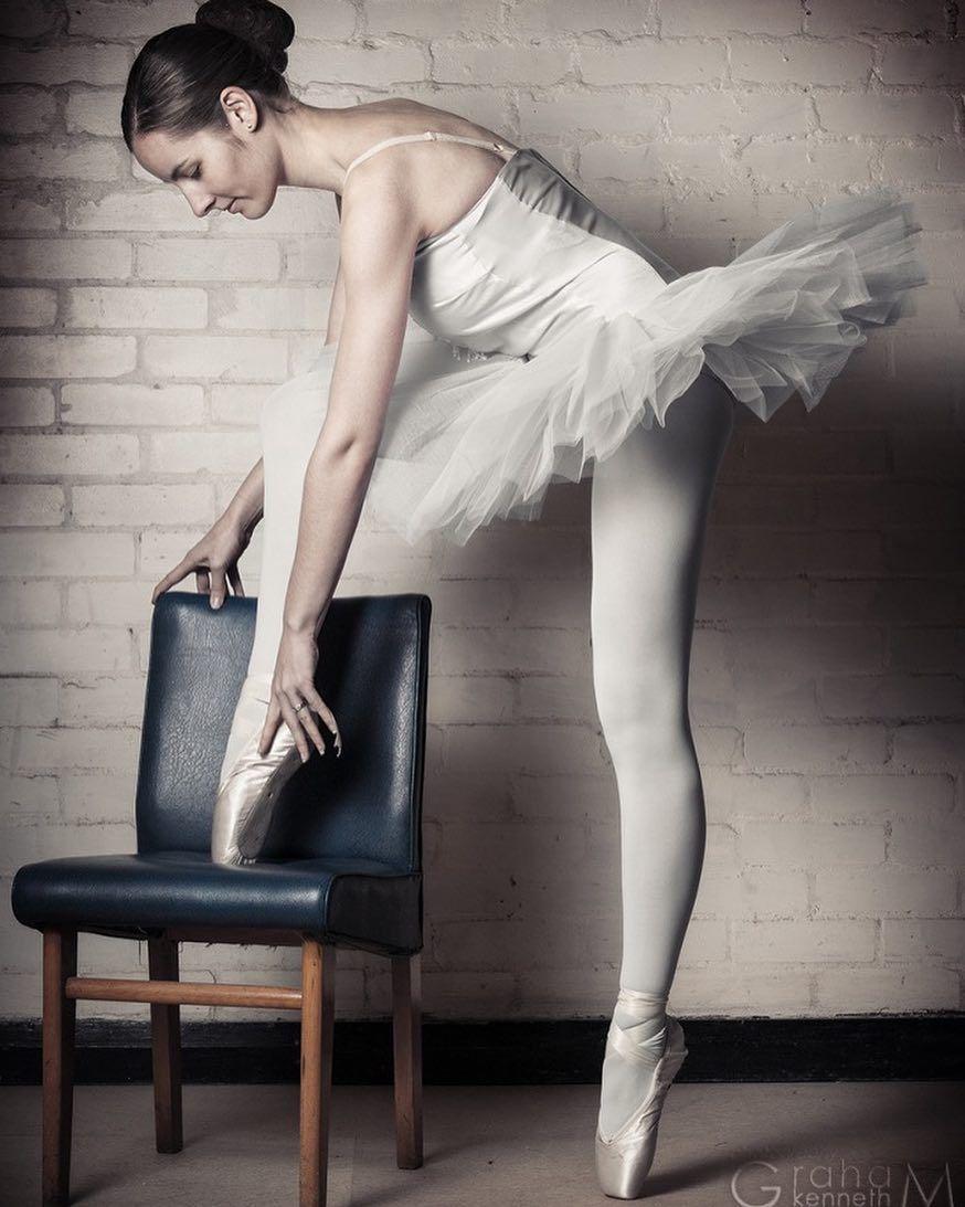 студийная фотосессия балерины года