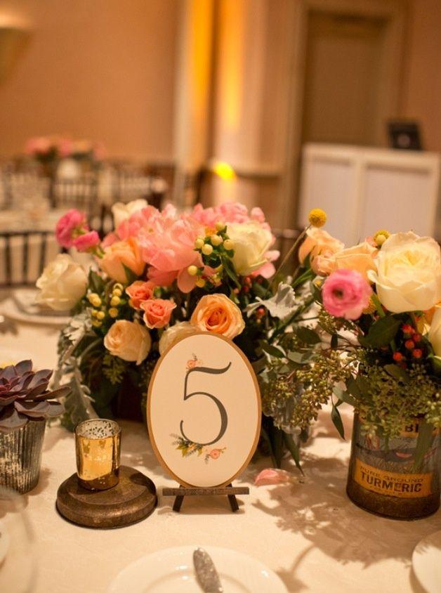 Elegant Rustic Wedding Centerpieces