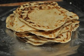One Classy Dish: Homemade Flour Tortillas (like El Torito Grill)