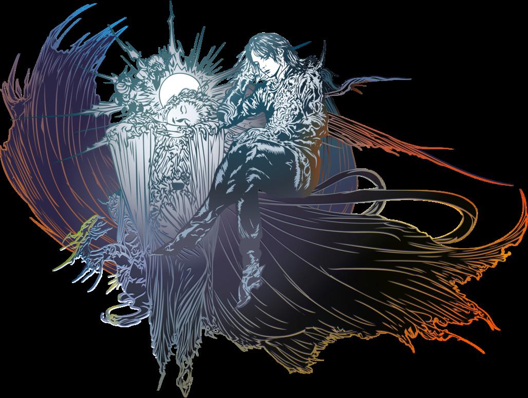 Final Fantasy XV logo POSTCREDITS by eldi13 Final