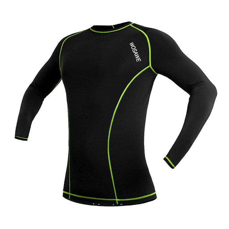 54ef17240 WOSAWE Long Sleeve Unisex Cycling Bicycle Bike Jersey Breathable Sports  Shirt Cycling Clothing