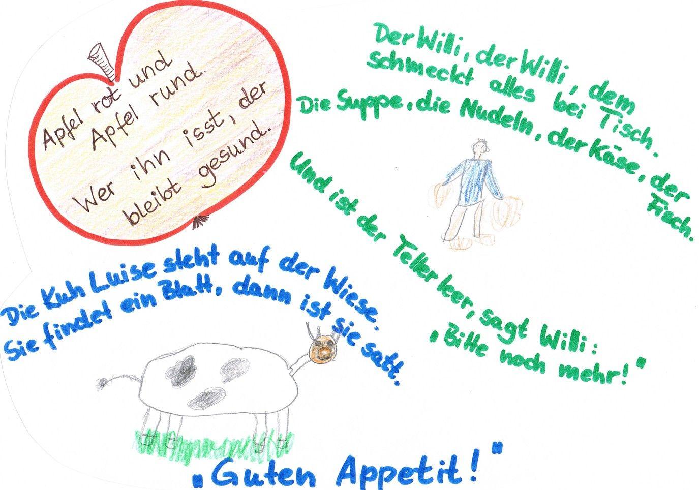 Pin von ingamade auf kita texte various tischspr che for Projekte im kindergarten herbst