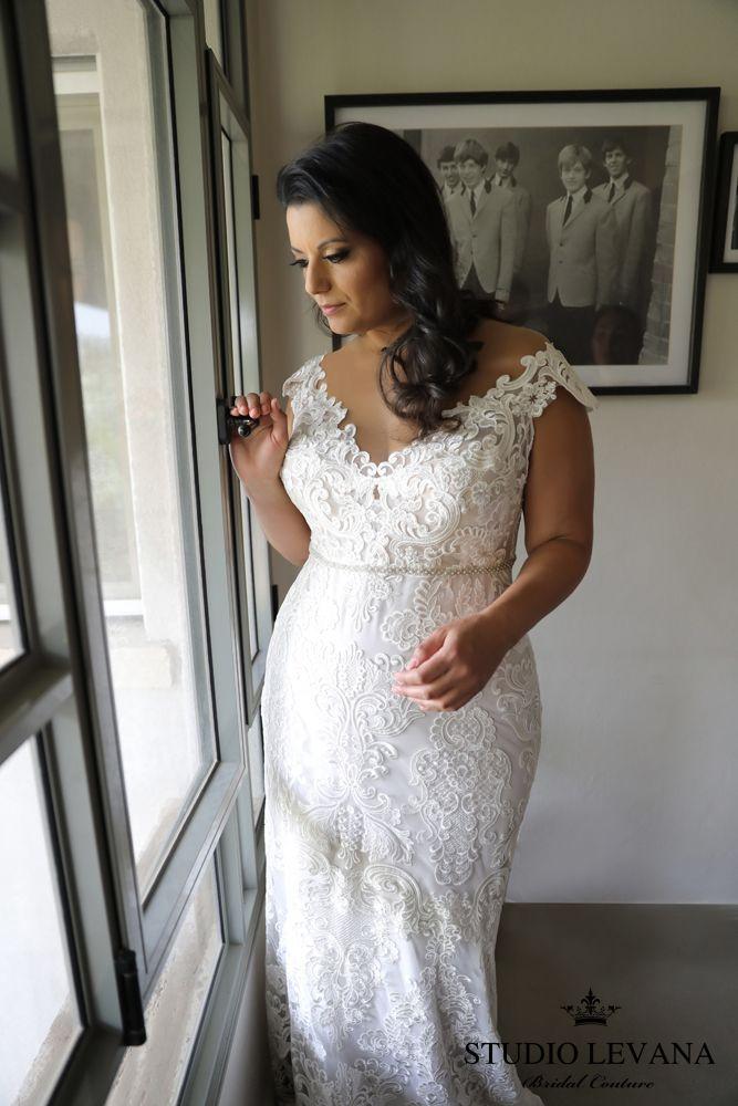 Adele   Studio Levana   Plus Size Wedding Dress   All My Heart ...