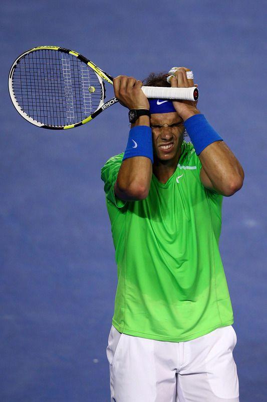 Rafa Nadal, 2012 Australian Open Final vs Novak Djokovic
