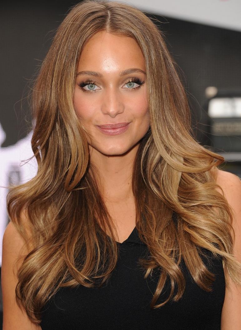 Hannah Davis Honey Brown Hair Light Brown Hair Hair Styles