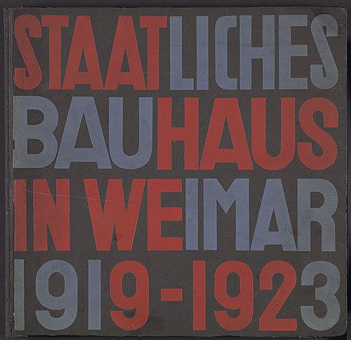 The bauhaus 1919 1933 comics art pinterest for Estudiar diseno de interiores gratis