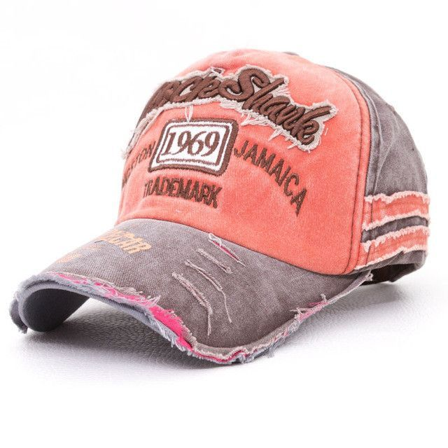 0c74df50e395c Rock Shark Kingston 1969 Jamaica Distressed Vintage Hat | Products ...