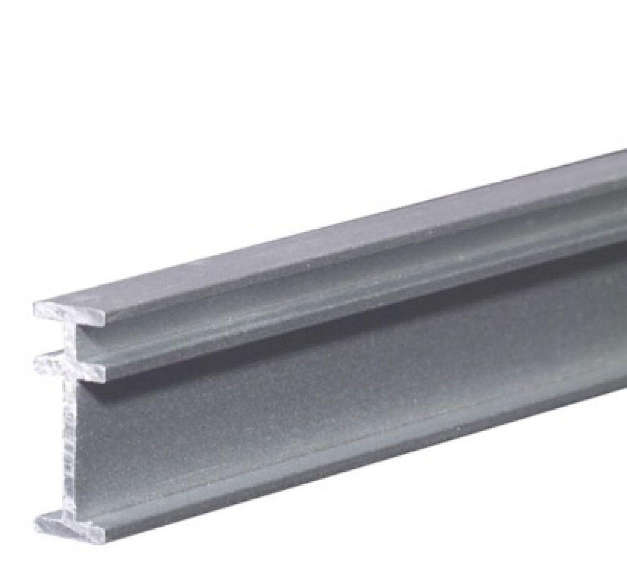 Recmar 4108 Bendable I Beam Curtain Track 8 Feet Curtain Track Ceiling Mounted Curtain Track Shower Curtain Track