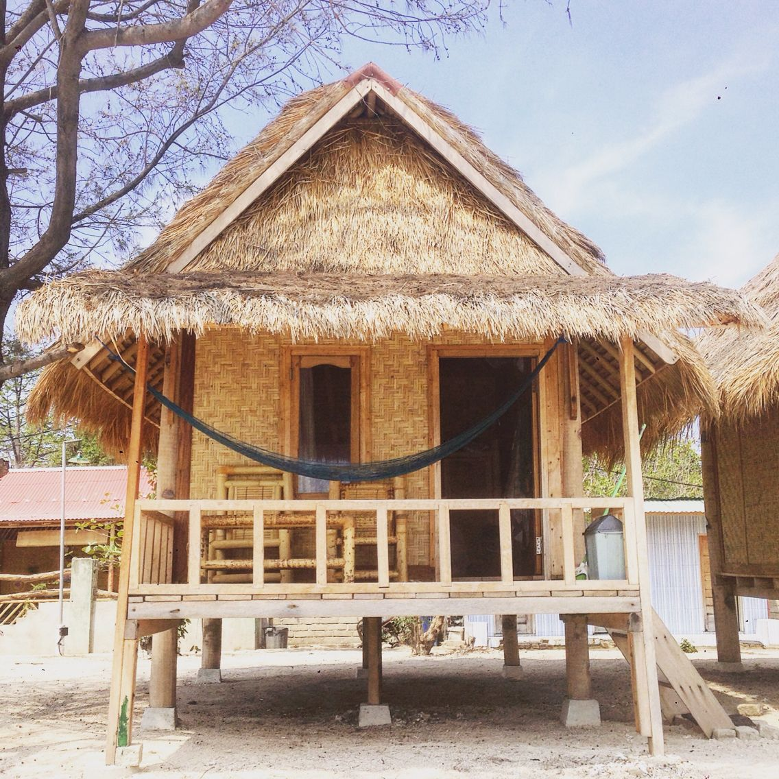 Bungalows Gili Air Bali Small House Beach Front Wwwrudisbalitours