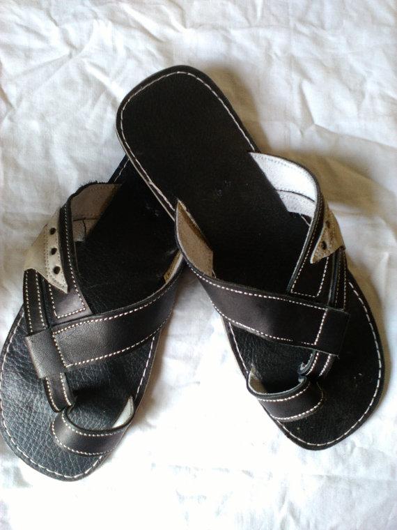 5d5d25e823829 Ushindi - African Kenyan Handmade Men/ Unisex Leather Sandals, Flip ...
