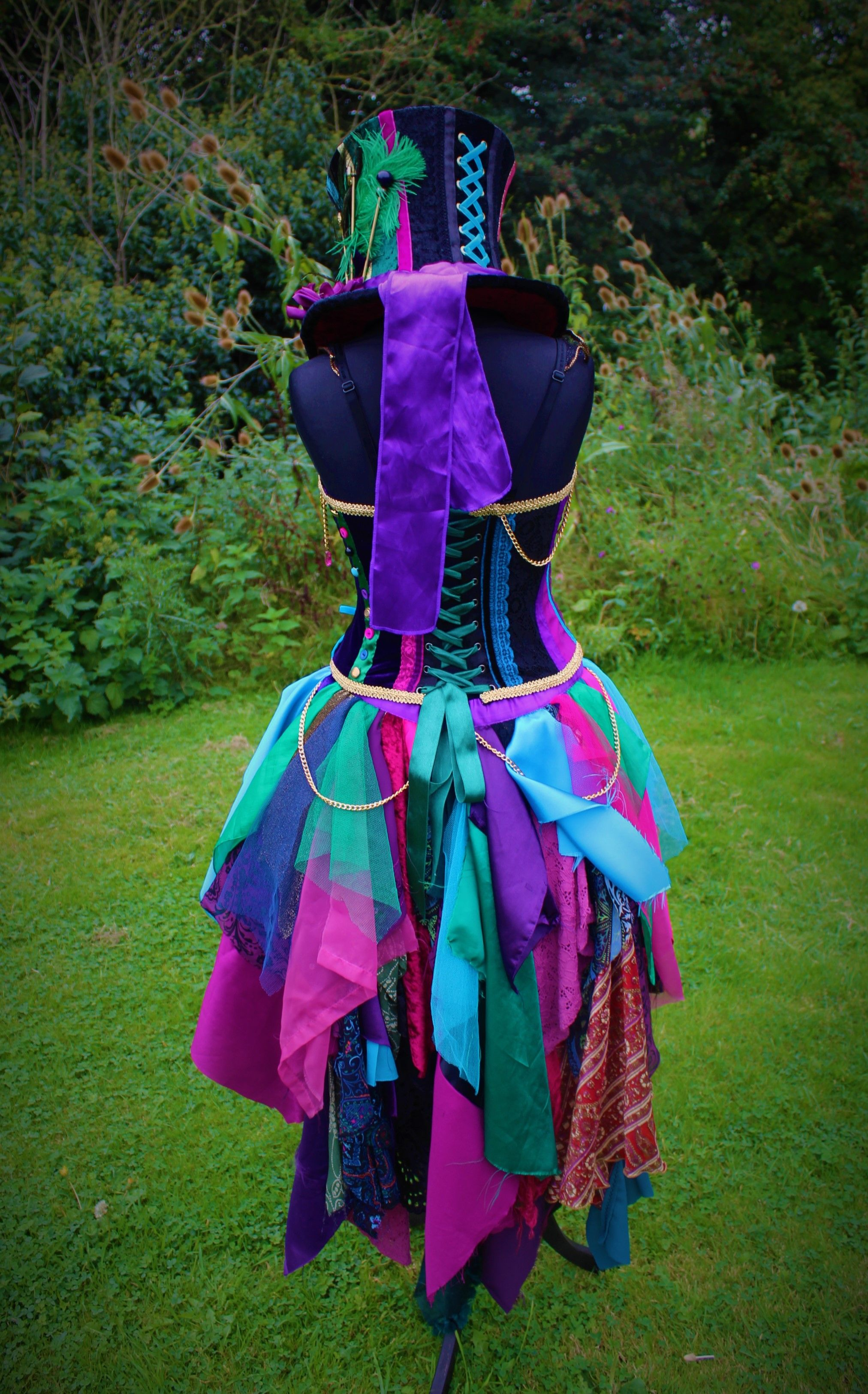 Full Mad Hatter Costume. Custom made fancy dress by Faerie In The ...