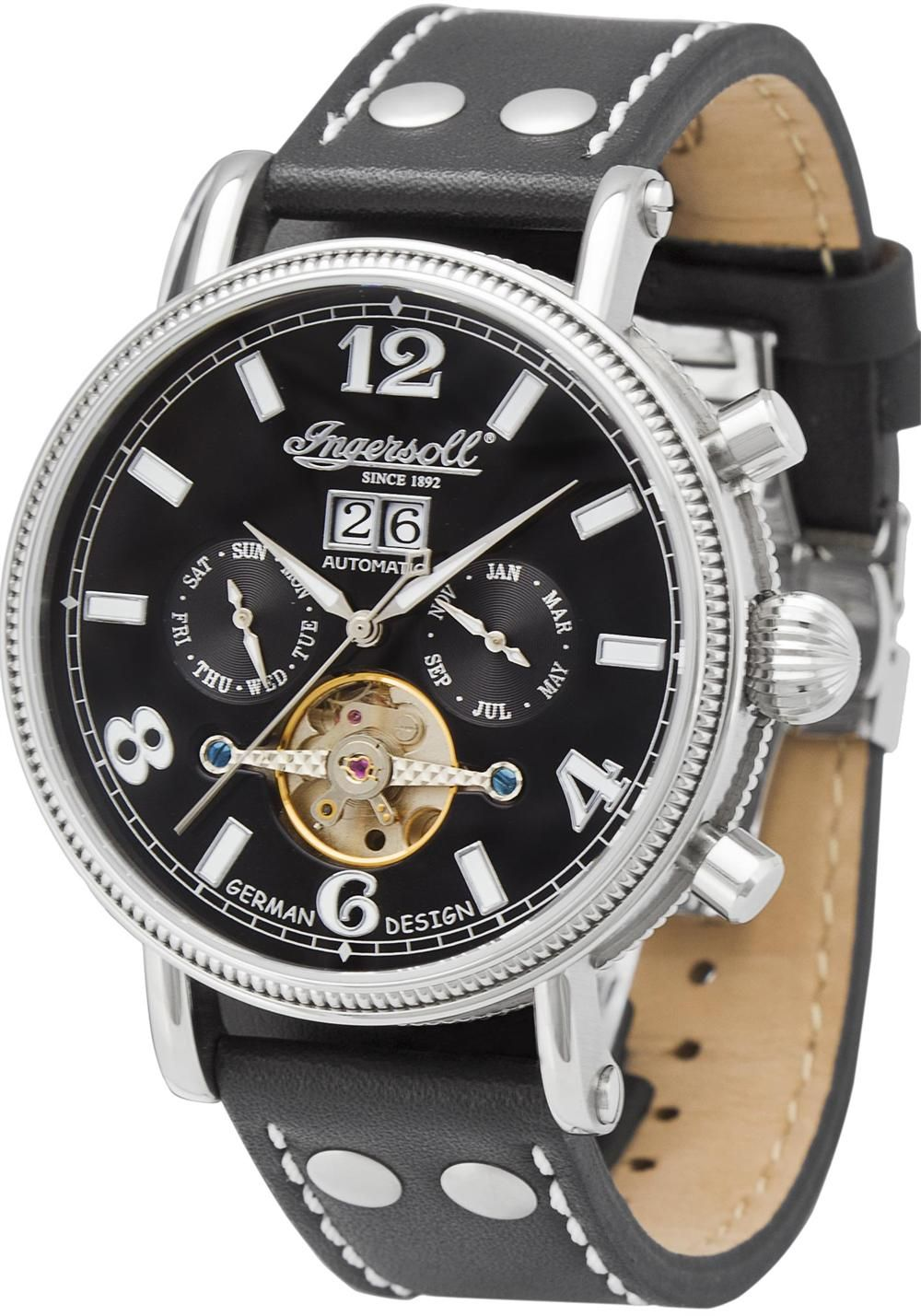 Ingersoll IN1804BK Big Date Automatic Limited Edition
