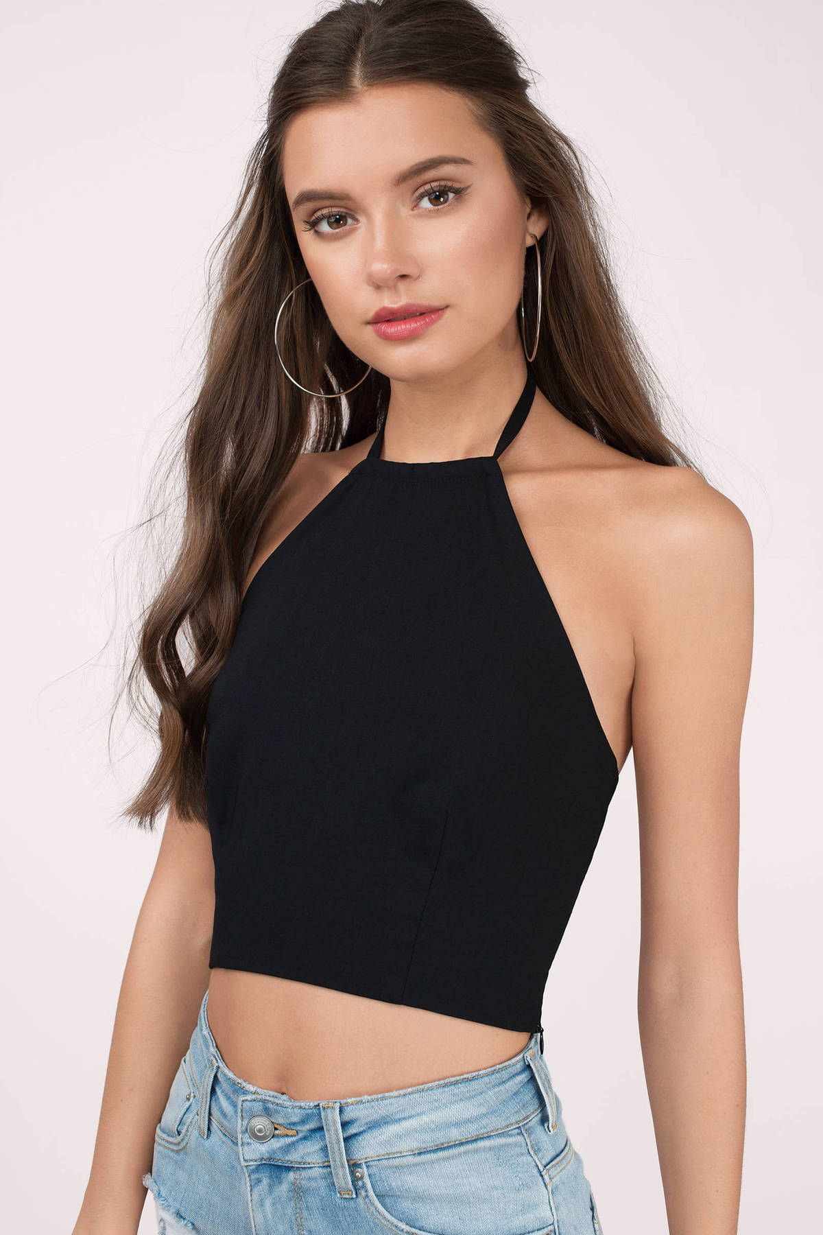 All Day, Everyday Halter Crop Top