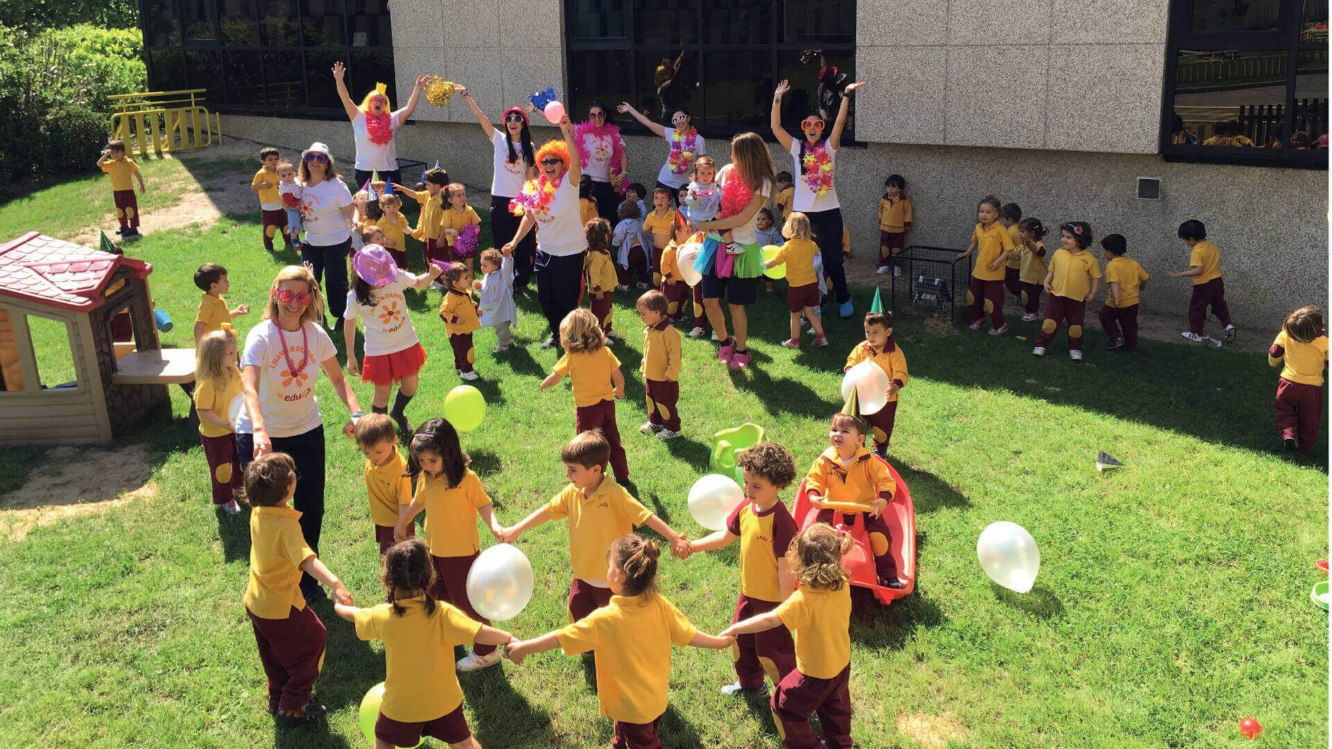 7 Ideas De Eduqa Nursery Schools En Valdebebas Modelo Educativo Calidad En El Servicio Educacion Infantil